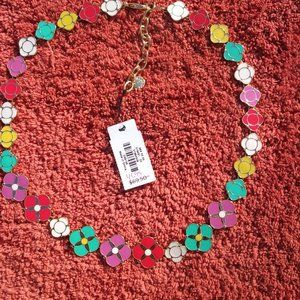 🌷 Bundle 2/$25 Talbots Enamel Floral Necklace